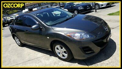 2010 Mazda 3 BL 10 Upgrade Maxx Grey Manual 6sp M Sedan