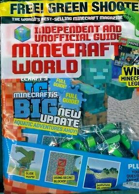 Minecraft World Magazine Issue #39 ~ New Sealed Pack ~