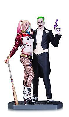DC Collectibles Suicide Squad Movie: The Joker and Harley Quinn Statue 13inches