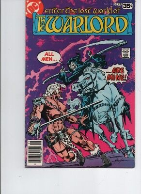The Warlord #-14- bronze age( 1978 DC )DEATH- Mike Grell--FN/VF