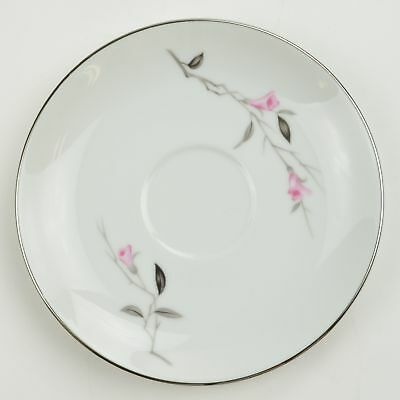 Fine China Of Japan Cherry Blossom Pattern Flat Cup Saucer Tableware 1067 Floral