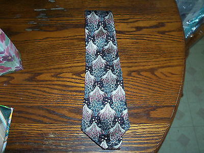 vintage mens Retro Design Studios necktie Neck Tie silk