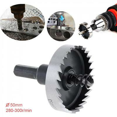 Hole Saw Tooth Kit HSS Steel Drill Bit Set Cutter Tool For Metal Wood Alloy 50mm