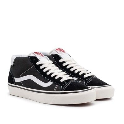 VANS SHOES MID SKOOL 37 DX ANAHEIM FACTORY BLACK WHITE US