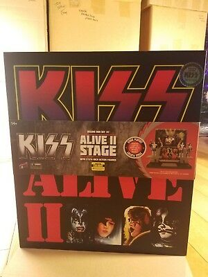 KISS Alive II Stage with 1:20 Scale Action Figures-Deluxe Box Set #1 LIMITED RUN