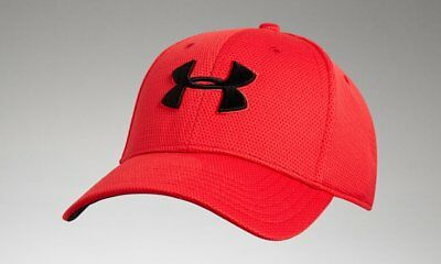 UNDER ARMOUR MEN S Hat Black Gray Striped Front Stretch Fit Style ... 7e9b77a2e167