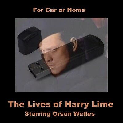 Harry Lime, The Lives Of. Enjoy All 52 Old-Time Radio Shows In Your Car Or Home!