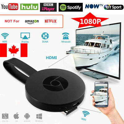 For Chromecast 2nd Generation HDMI 1080P Media Video Digital Streamer Google CA