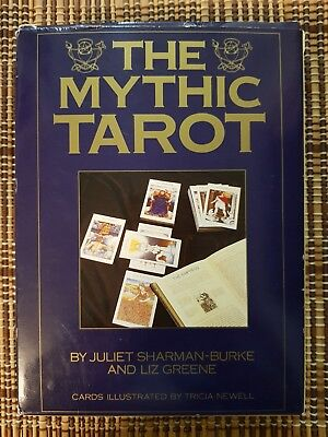 New Rare Oop Htf The Mythic Tarot Book And Deck Set And The Mythic Workbook