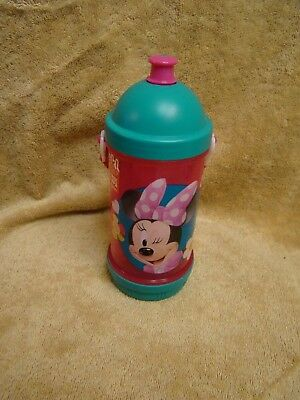 ZAK Disney Minnie Mouse Sip Snack and Water Travel Canteen Girls Bottle NEW