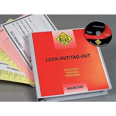 Marcom Group V0000699EO Lock-Out/Tag-Out DVD Training