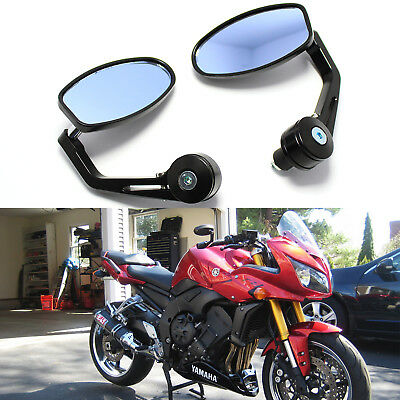 """Black 7//8/"""" Bar End Mirrors For Yamaha TW TY YT PW 50 80 125 175 200 250 350"""