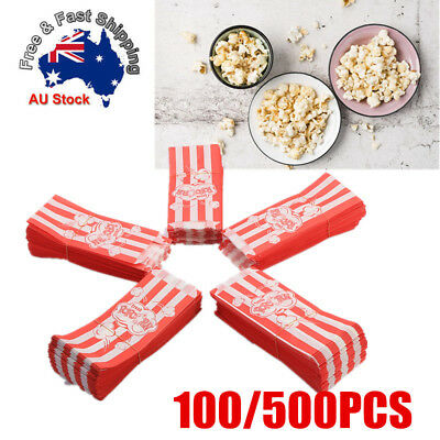 500Pcs PopCorn Favor Bags for Candy Food Wedding Decor Birthday Party Supplies