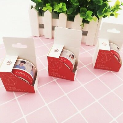 KPOP BTS LOVE YOURSELF 结 Answer Masking Tape Album Diary Scrapbook DIY Fans Gift