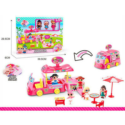 LOL Surprise Doll Car Playset Picnic Baby Figure Topper Kids Girls Best Gift Toy