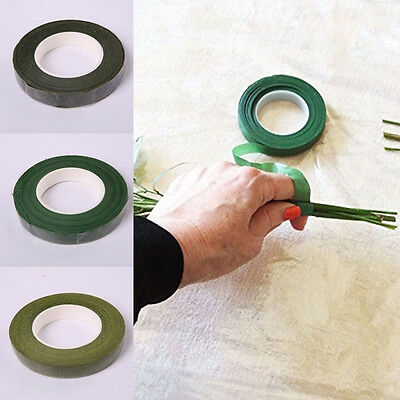 Florist Floral Stem Tape Corsages Buttonhole Artificial Flower Stamen Wrap DIY