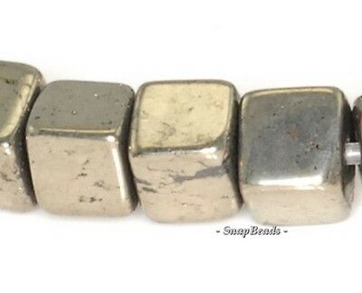 """PALAZZO IRON PYRITE GEMSTONE TOPDRILL ROUND BULLET HORN 30X10MM LOOSE BEADS 16/"""""""