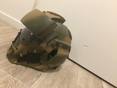 camo casque helmet protection airsoft paintball space marines star wars cosplay