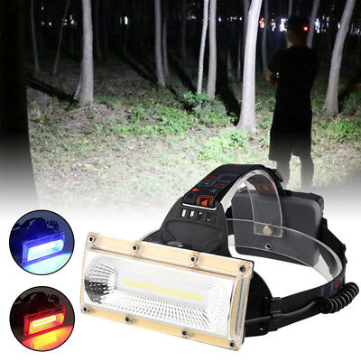 30W LED Stirnlampe Kopflampe Headlamp Headlight Jogging Licht Arbeitslampe USB