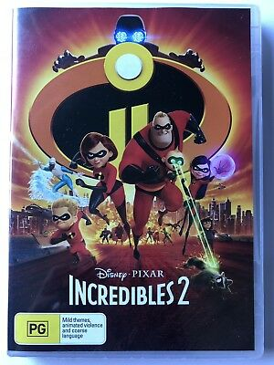 Incredibles 2 (DVD, 2018) (Region 4) Brand New & Sealed Disney Region 4 Movie 🍿