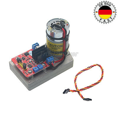 High Torque Servo DC12V 24V 380kg.cm Steel Gear for Robot Mechanical Arm DE bid