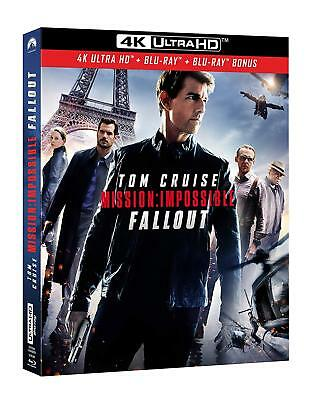 Mission Impossible Fallout  Blu Ray 4K Ultra Hd + Blu Ray  Neuf Sous Cellophane