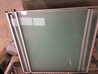 GLASS PARTITIONS Frame for home or office TOUGHENED GLASS