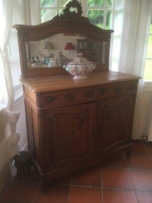 sideboard, antique French buffet, cupboard