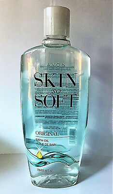 Avon Skin So Soft Bath Oil Original Scent 25 Oz