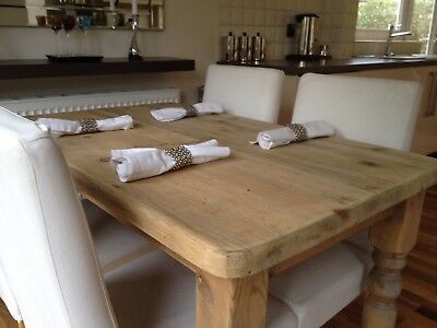 Pine Country Farmhouse Dining Table