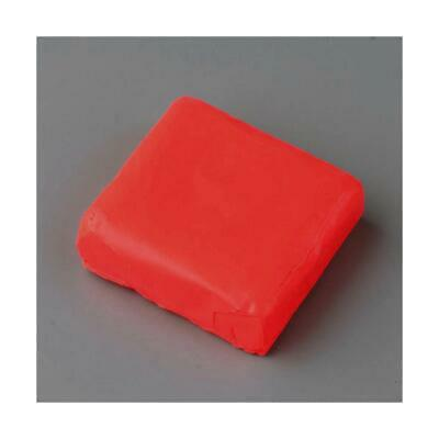 2 x 50g+ Red Oven Bake Polymer Modelling Clay For Arts & Crafts Y13565