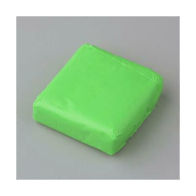 2 x 50g+ Lime Green Oven Bake Polymer Modelling Clay For Arts & Crafts Y13575