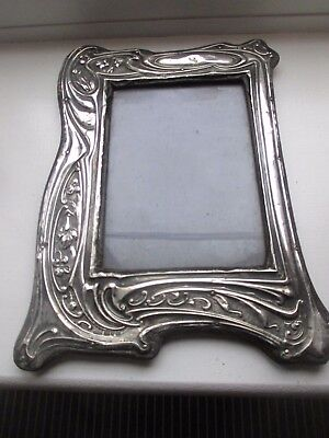 LOVELY Hallmarked Silver Photo Frame 19TH CENT  CHESTER JRG 1906