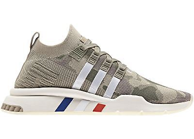official photos 62320 5e6e1 Adidas EQT Equipment Support Mid ADV Primeknit Camo Trace Cargo Khaki B37513
