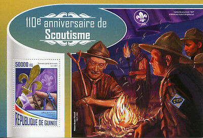 Guinea 2017 MNH Scouting Robert Baden-Powell 1v S/S Boy Scouts Stamps