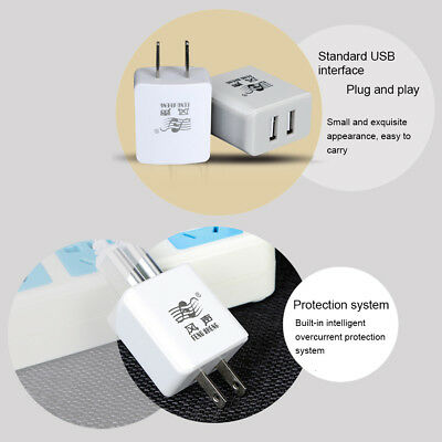 1A/2.1A Fast Charging Portable USB Charger For Mobile Phones Digital Products BN