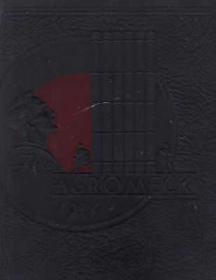 "1934 ""Agromeck"" - NC State College Yearbook - Raleigh, NC - Names in Listing!"
