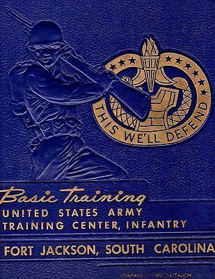 1961 Basic Training Yearbook Ft. Jackson SC - NAMES in LISTING!