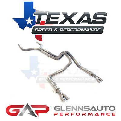 Texas Speed (TSP) True Dual Exhaust (Rear Exit) 1998-2002 Camaro F-Body