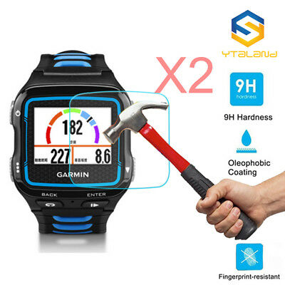 2Pcs 9H+ Tempered Glass Screen Protector For Garmin Forerunner 920XT Smart Watch