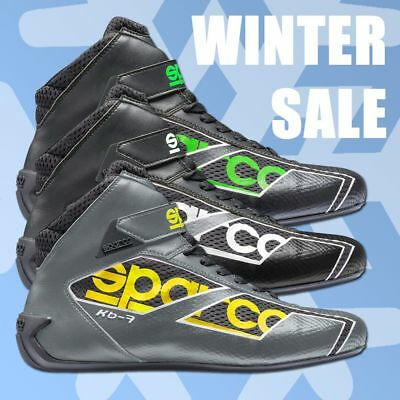 Sparco SHADOW KB-7 Karting Shoes Racing Boots WINTER CLEARANCE SALE !!