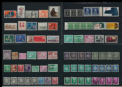 Stamps of Old Germany, DDR, Alliierte Besatzung, used,  great Lot (DDR 25)