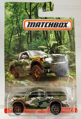 MATCHBOX Camouflage series Ford F-150 SVT Raptor NEW in BLISTER 2017 issue