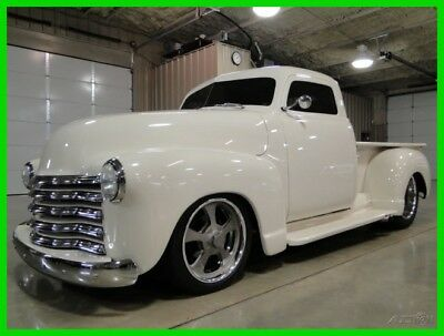 1952 Chevrolet 3100 Resto Mod  1952 Custom Chevrolet Resto Mod 3100 Truck / 383 Stroker monster! Check it out!