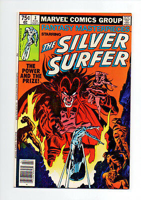 Fantasy Masterpieces #3 (02/80) Vf/nm 9.0 Reprints Silver Surfer #3