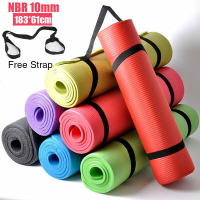 Lot Foam Thick Durable Yoga Mat Non-slip Exercise Fitness Pad Mat Free shipping