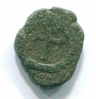 Authentic BYZANTINE EMPERE  Christian CrossÆ Coin  ANC12754#6