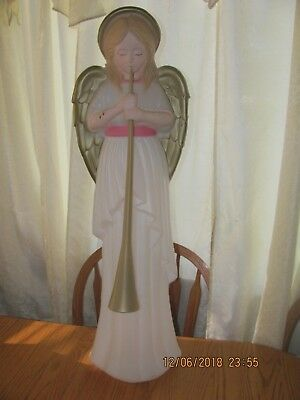 Vintage TPI Angel With Trumpet Blow Mold