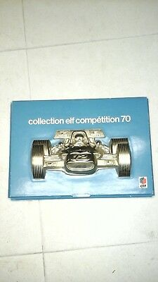 Collection Elf Compétition 70 Coffret Photos Rallly Auto F1 Complet