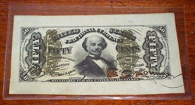 FR.1328SP WMF (3rd Issue) 50 cent AUTOGRAPHED - WIDE MARGIN SPECIMEN - SCARCE